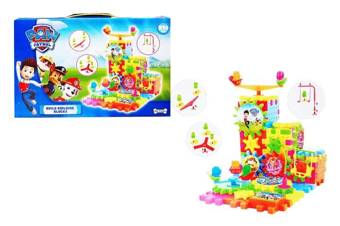 toko mainan online BUILD BUILDING BLOCK PAW PATROL - 598-6