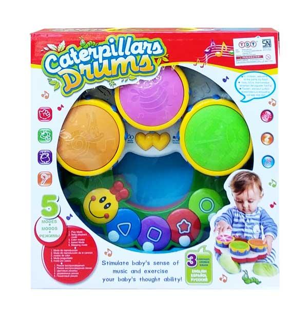 toko mainan online CATERPILLARS DRUMS - 2216A-33