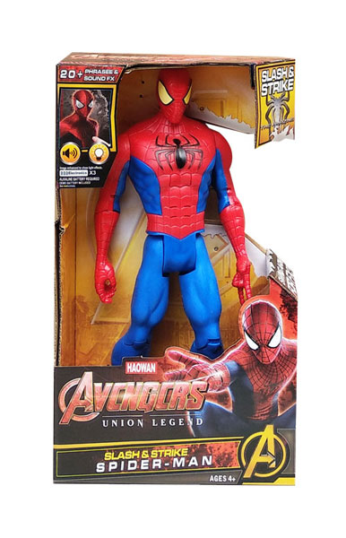 toko mainan online AVENGERS SLASH & STRIKE SPIDERMAN - GO818E