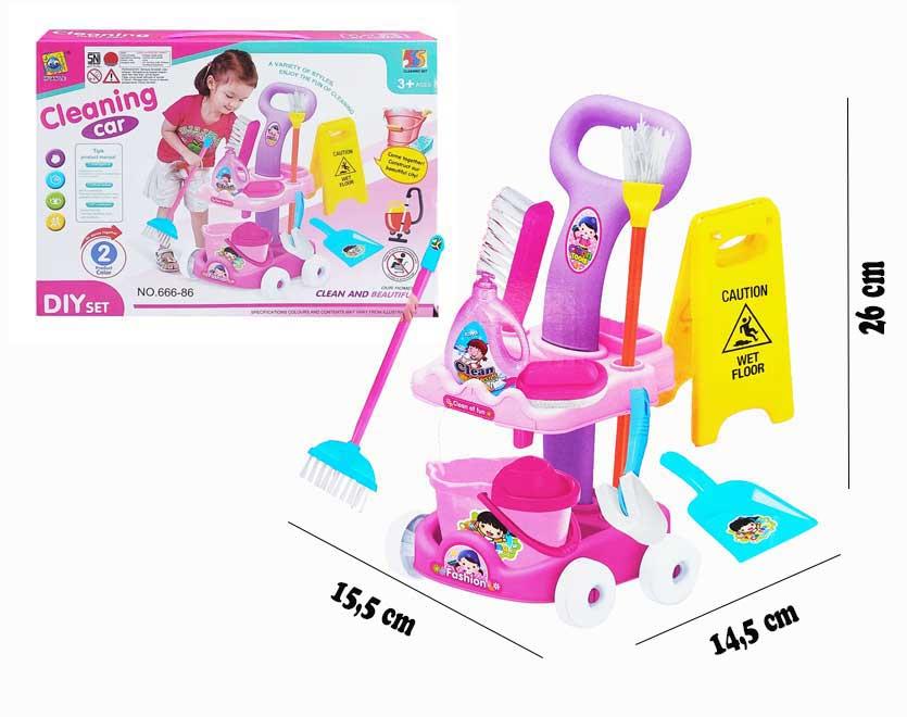toko mainan online CLEANING CAR - 666-86