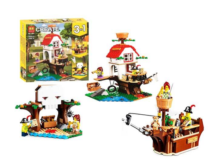 toko mainan online BLOCK CREATE 268PCS - 11051