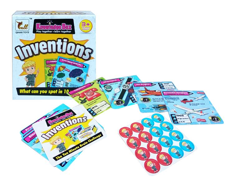 toko mainan online KNOWLEDGE BOX INVENTIONS - 912B