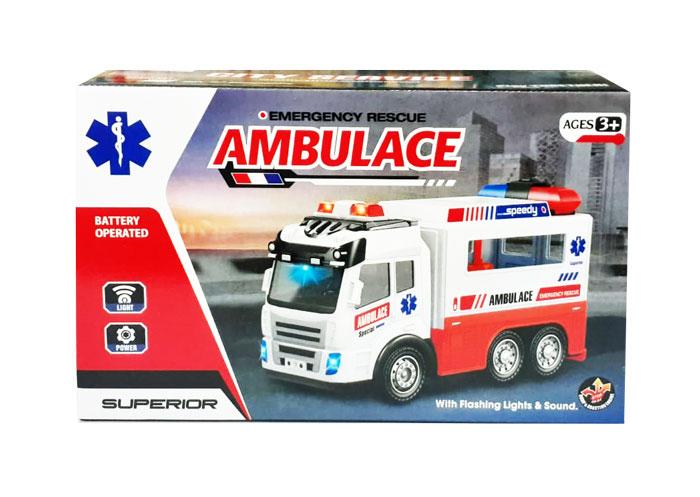 toko mainan online EMERGENCY RESCUE AMBULANCE - 89-302B