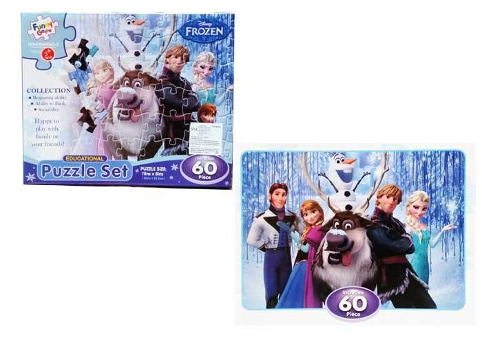 toko mainan online PUZZLE FROZEN 60PCS - GD66061