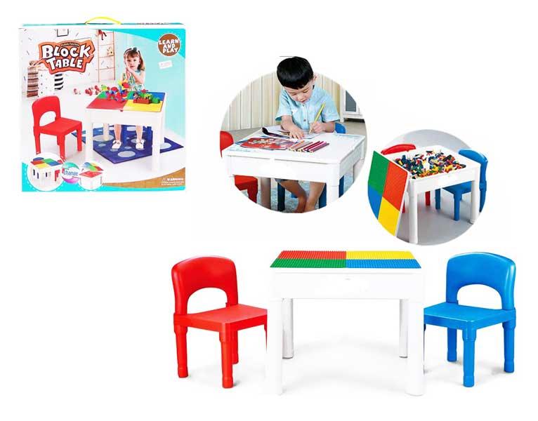 toko mainan online BLOCK TABLE - 985