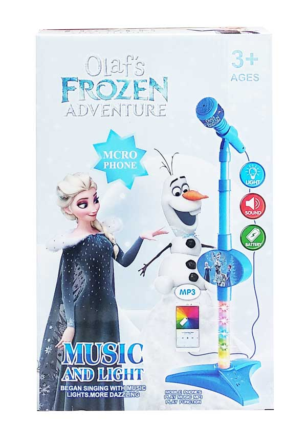 toko mainan online MICROPHONE OLAF FROZEN - 8033A