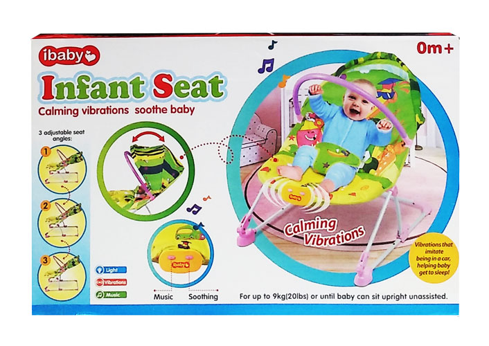toko mainan online IBABY INFANT SEAT BIRU - 68109