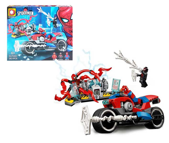 toko mainan online BLOCKS SPIDERMAN 282PCS - DLP2003