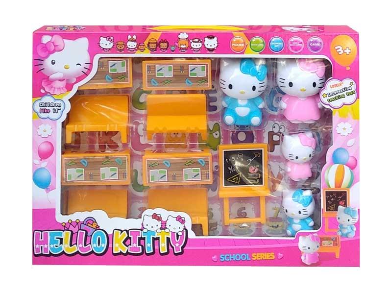 toko mainan online HELLO KITTY SCHOOL SERIES - 333A-129
