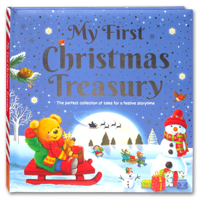 toko mainan online MY FIRST CHRISTMAS TREASURY - 520168