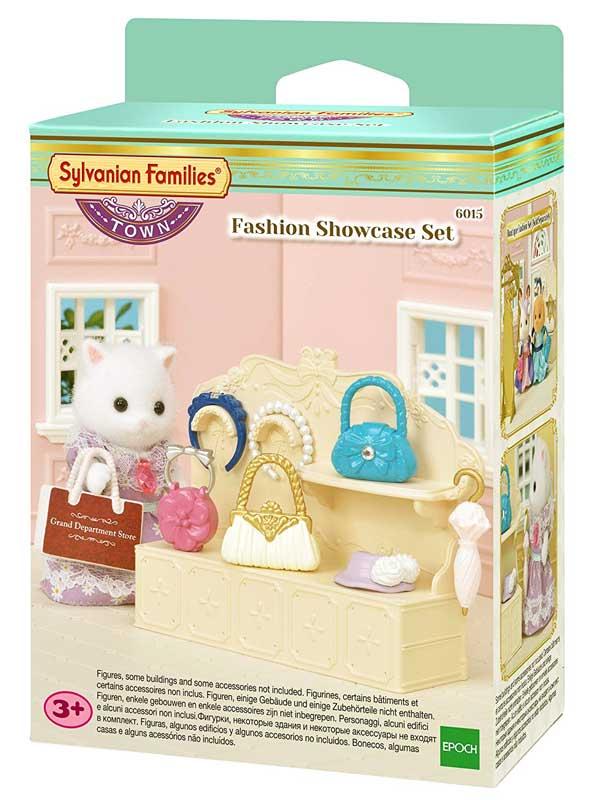toko mainan online SYLVANIAN FASHION SHOWCASE - 6015