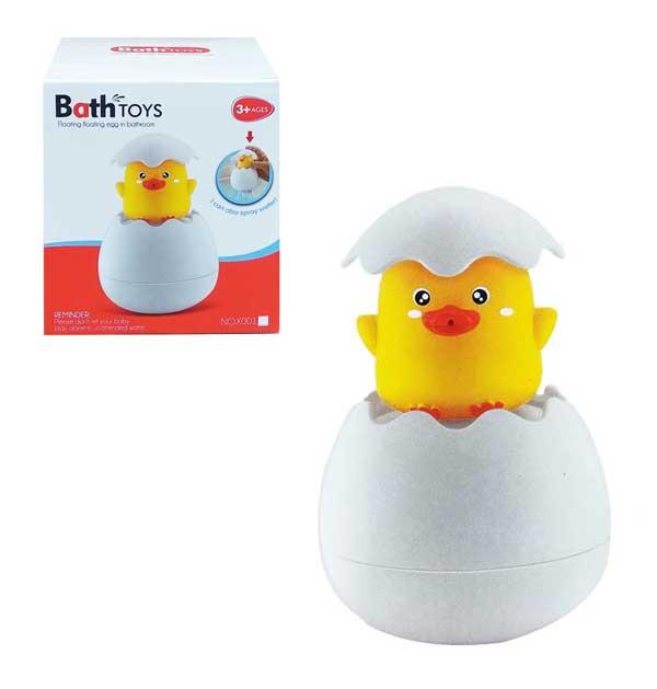 toko mainan online BATH TOYS FLOATING EGG - X001