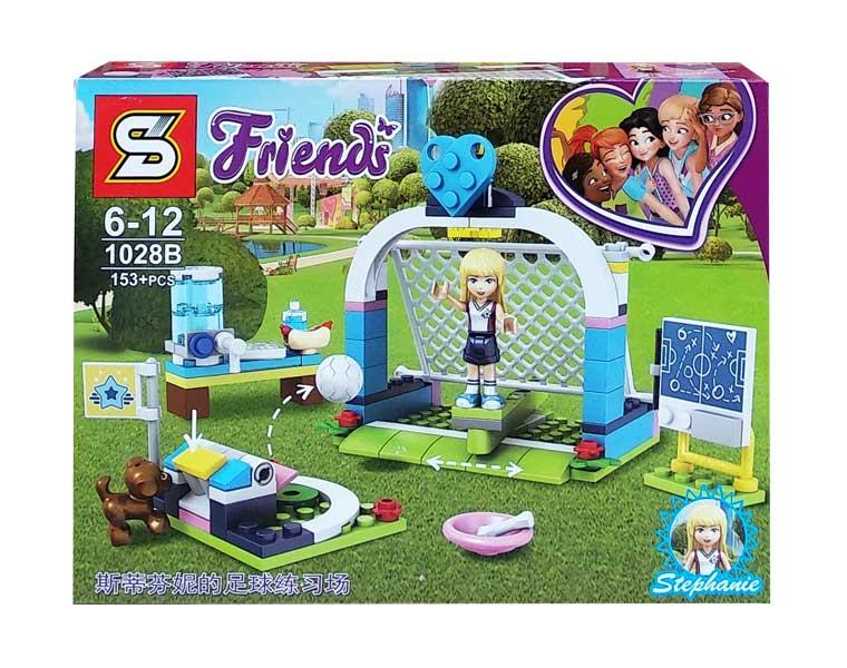 toko mainan online BLOCK FRIENDS STEPHANIE 153PCS - 1028B