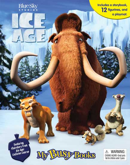 toko mainan online MY BUSY BOOK ICE AGE