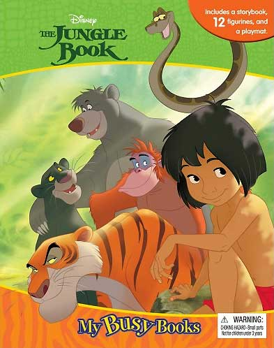 toko mainan online MY BUSY BOOK THE JUNGLE BOOK