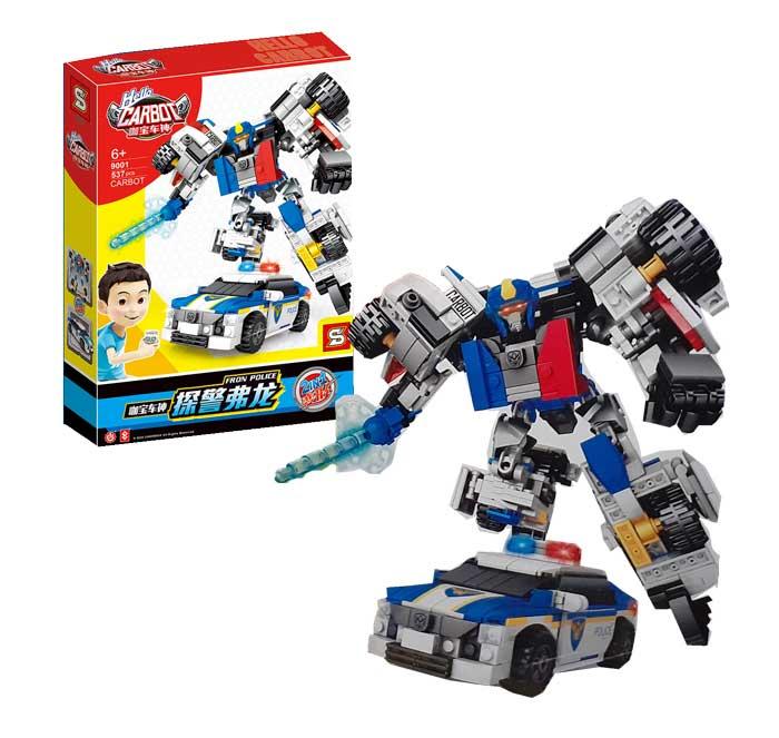 toko mainan online BLOCK CARBOT 537PCS - 9001