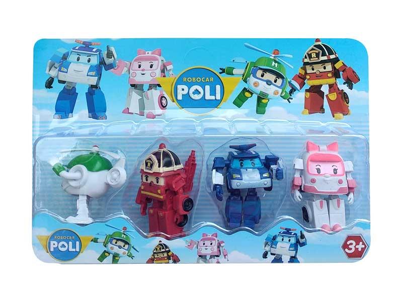 toko mainan online ROBOCAR POLI ISI 4 - 896508