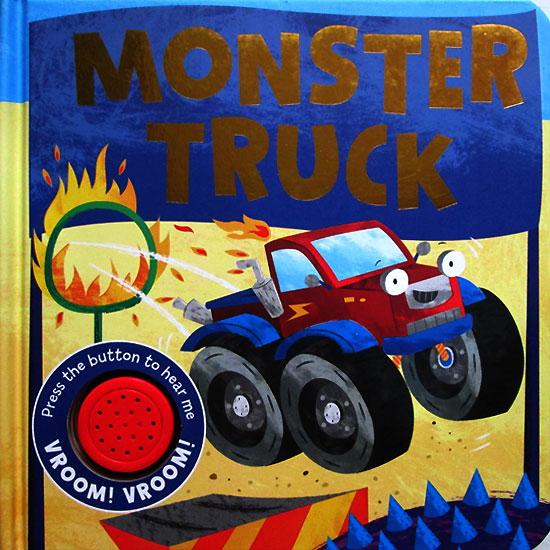 toko mainan online Monster Truck Sound Boardbook