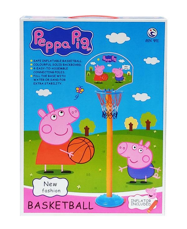 toko mainan online PEPPA PIG BASKET BALL - JY2223P