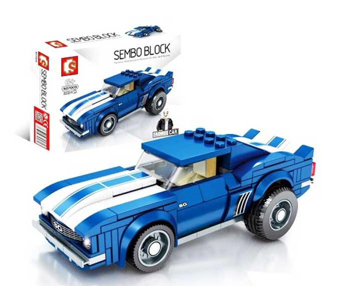 toko mainan online SEMBO CAR 212PCS - 607009