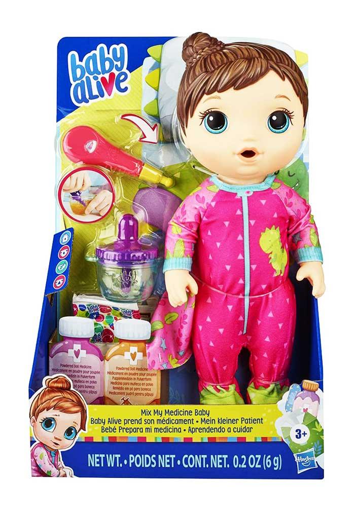 toko mainan online BABY ALIVE MIX MY MEDICINE (COKLAT) E6942