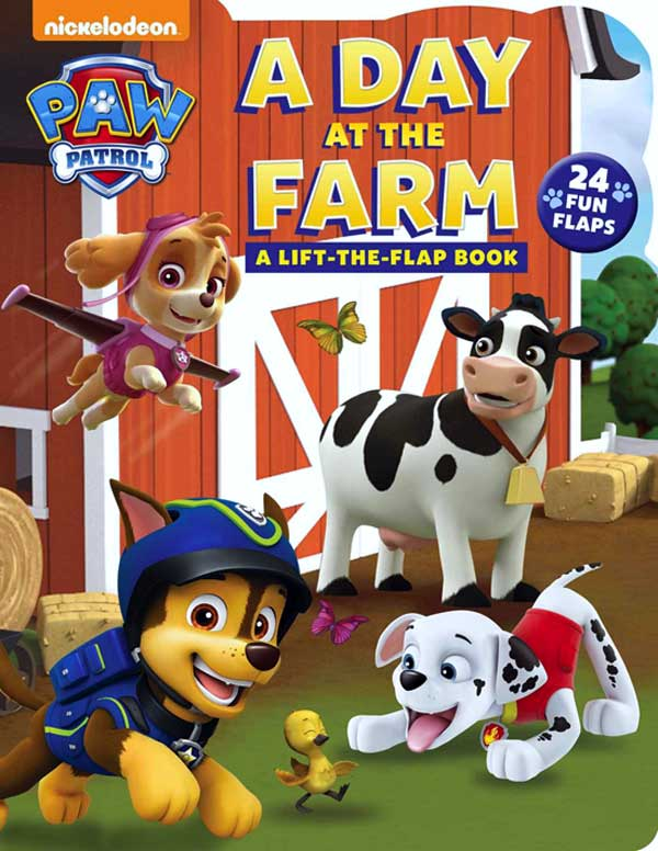toko mainan online Paw Patrol A Day At The Farm 24Fun Flaps