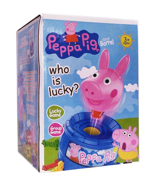 toko mainan online PEPPA PIG AND BARREL - HY-555