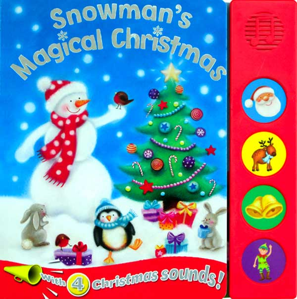 toko mainan online SNOWMANS MAGICAL CHRISTMAS 4 SOUND BOARD