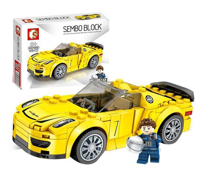 toko mainan online SEMBO CAR 169PCS - 607006