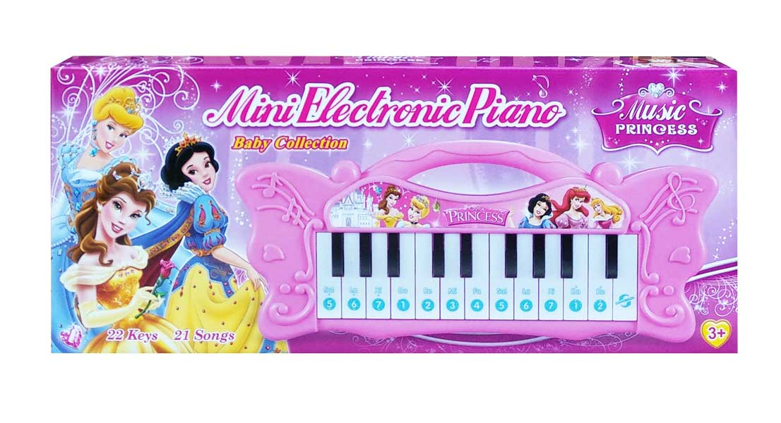 toko mainan online MINI ELECTRONIC PIANO PRINCESS - NB-03681/7002-3