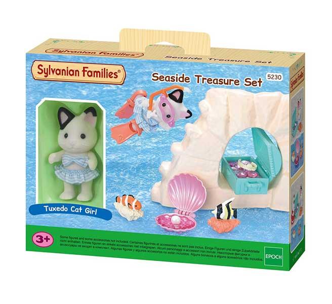 toko mainan online SYLVANIAN FAMILIES SEASIDE TREASURE SET - 5230