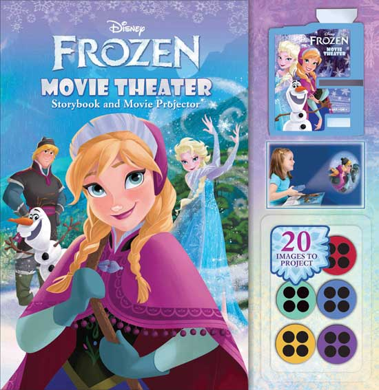 toko mainan online Frozen Movie Theater & Movie Projector