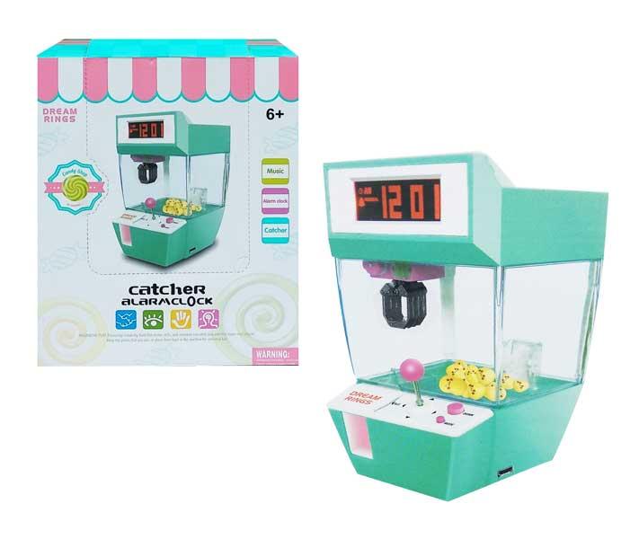 toko mainan online CATHER ALARM CLOCK - JH6607