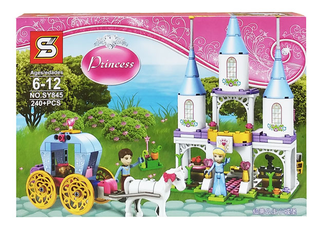 toko mainan online BLOCKS PRINCESS 240PC - SY845