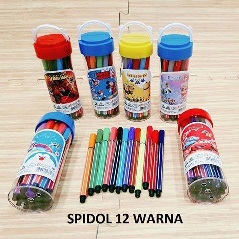 toko mainan online SPIDOL TABUNG ISI 12 - 233305