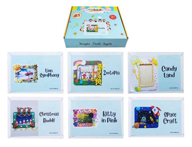 toko mainan online DIY CRAFT SMALL FRAME - NA FK