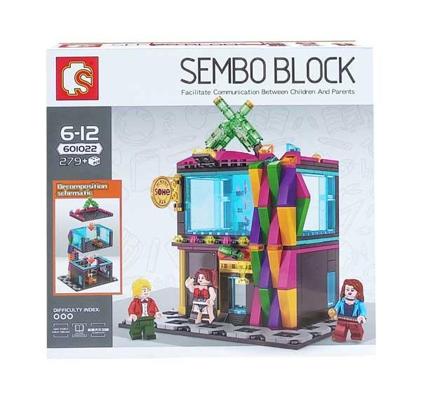 toko mainan online SEMBO BLOCK BUDWSISER 279PCS - 601022