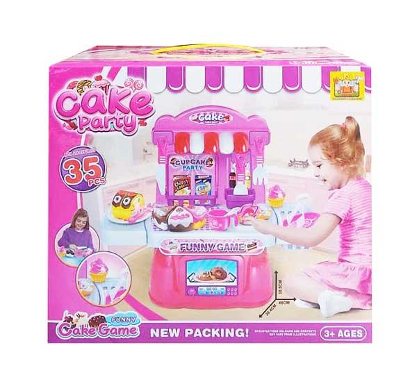 toko mainan online CAKE PARTY 35 PCS - 36778-98