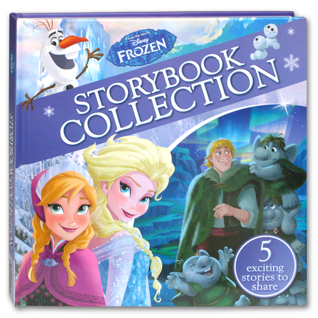 toko mainan online FROZEN STORYBOOK COLLECTION - 055435