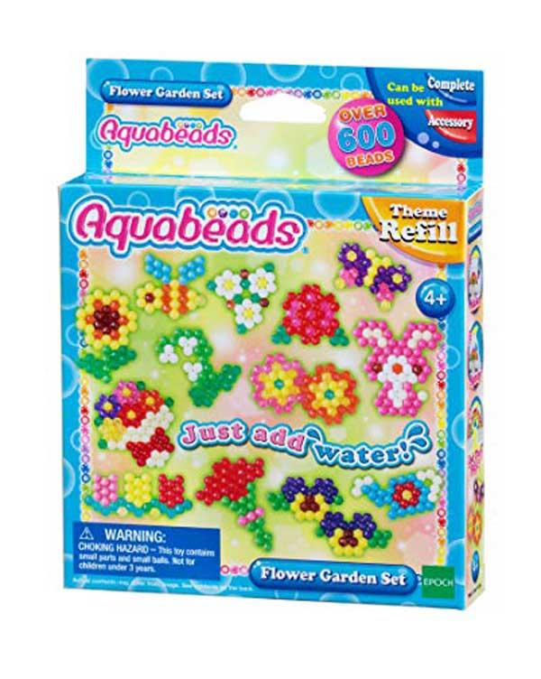 toko mainan online AQUABEADS FLOWER GARDEN SET REFILL - 31088