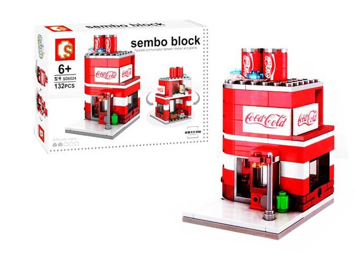 toko mainan online SEMBO COCA COLA 132PCS - SD6024