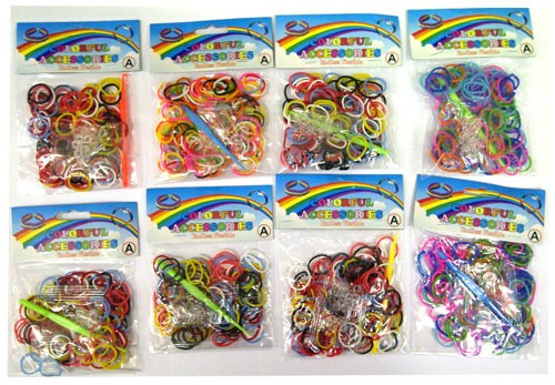 toko mainan online ISI RAINBOW LOOM