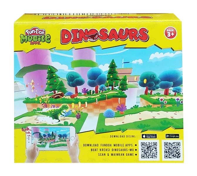 toko mainan online FUN-DOH MOBILE DINOSAURS - 28125