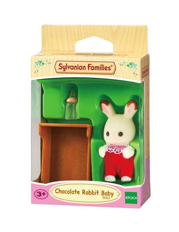 toko mainan online SYLVANIAN FAMILIES CHOCOLATE RABBIT BABY - 5062