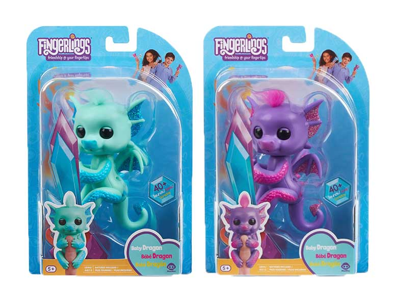 toko mainan online FINGERLINGS BABY DRAGON - 3580