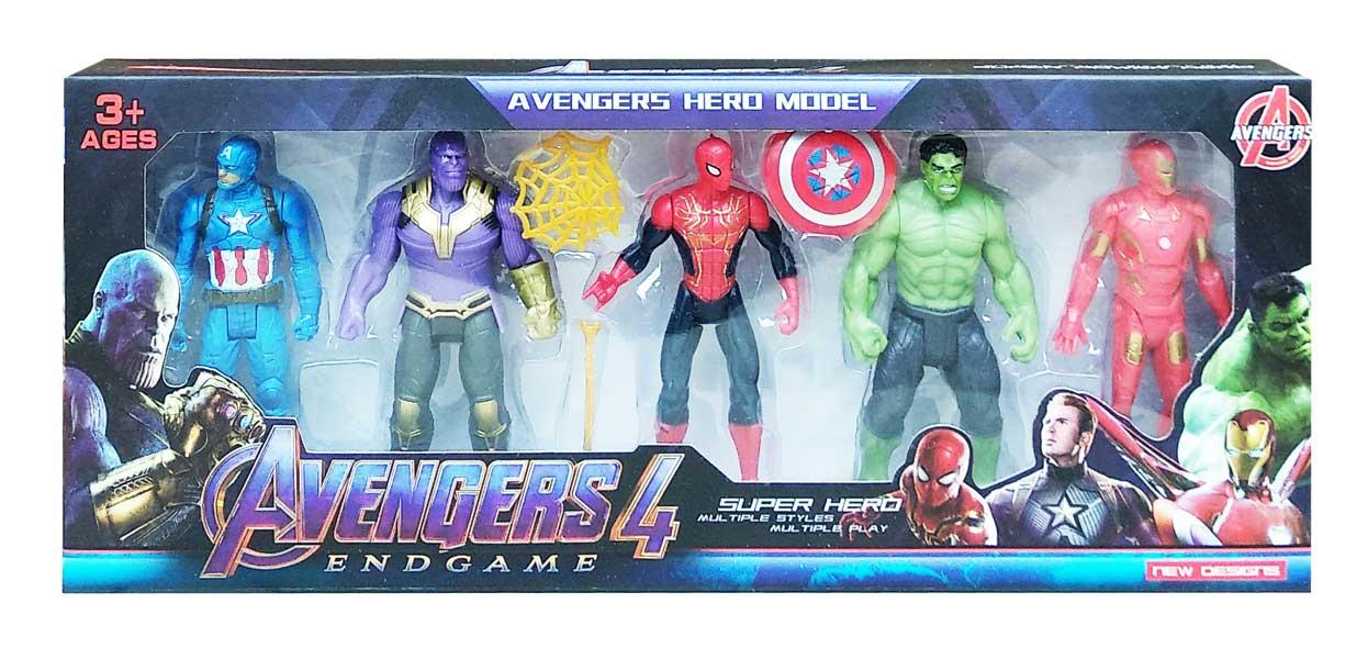 toko mainan online AVENGERS 5PCS (THANOS) - 2155