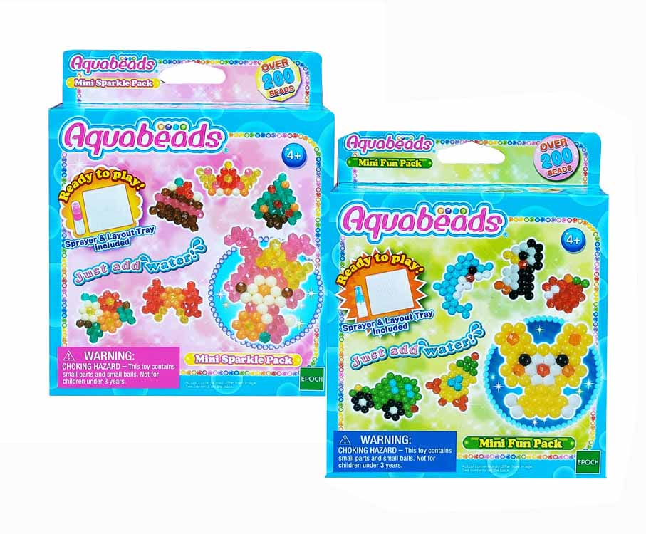 toko mainan online AQUABEADS MINI FUN/SPARKLE PACK - 32748-32758