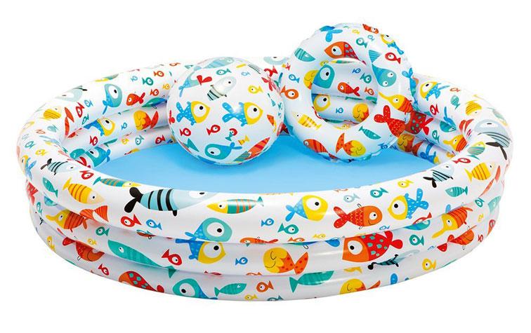 toko mainan online INTEX FISHBOWL POOL - 59469
