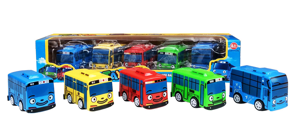 toko mainan online TAYO THE LITTLE BUS ISI 5 - DK-01