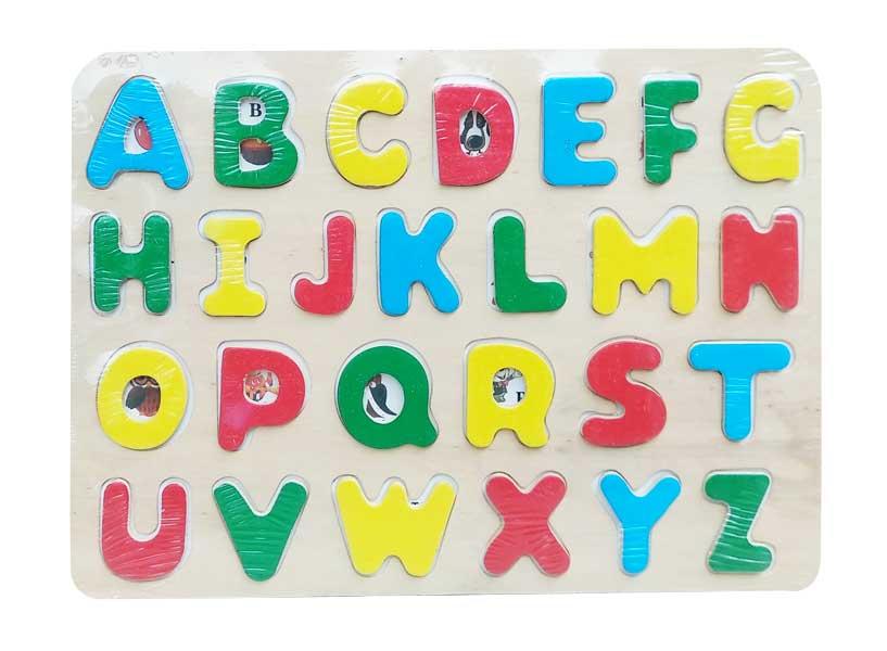 toko mainan online PUZZLE HURUF BIASA - ABC